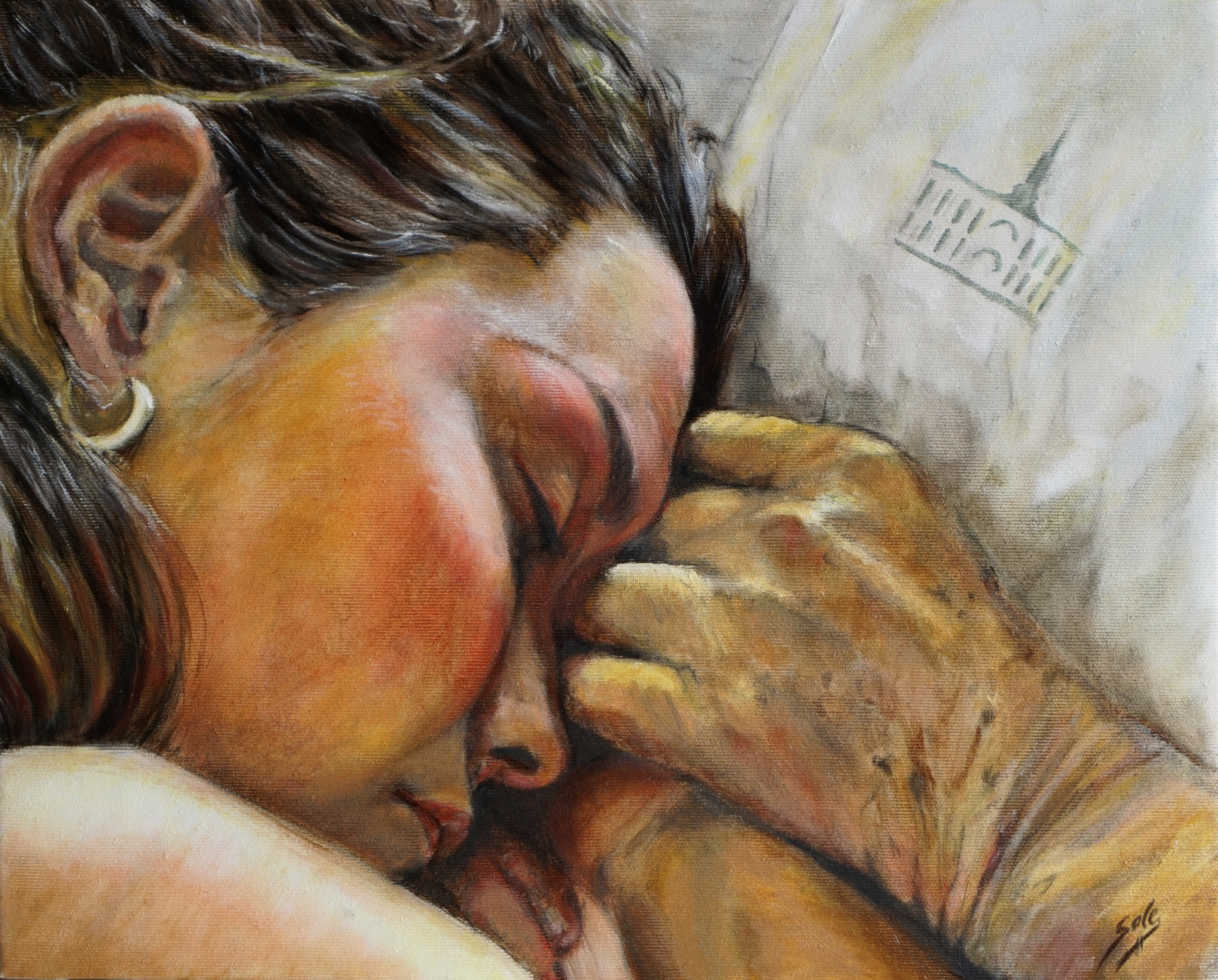 Abrazando tu último suspiro